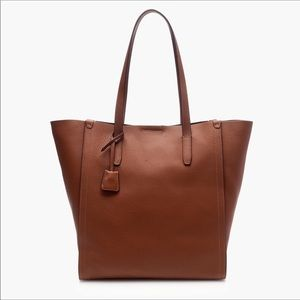 JCrew leather Signet tote